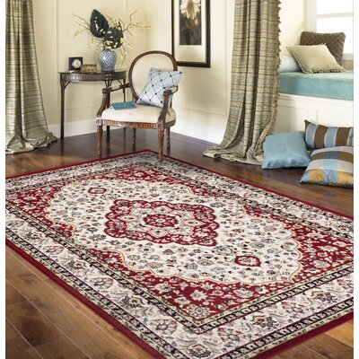 Brainard Red Indoor Area Rug Rug Size: 710 x 102