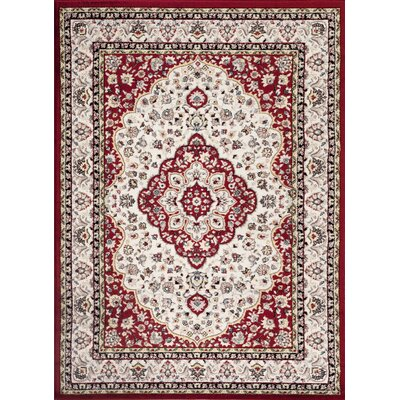 Brainard Red Indoor Area Rug Rug Size: 2' x 3'