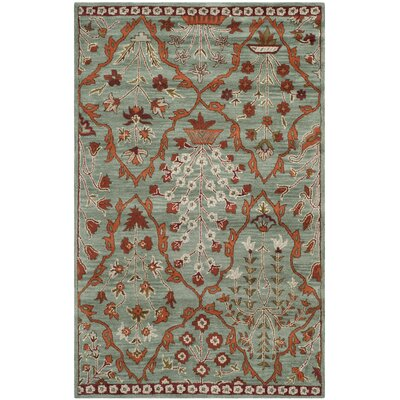 Colesberry Blue Area Rug Rug Size: 5 x 8