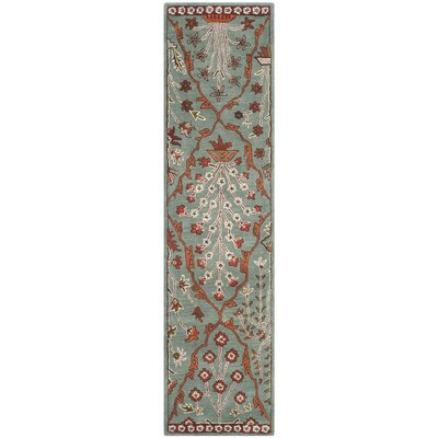 Colesberry Blue Area Rug Rug Size: Runner 23 x 9