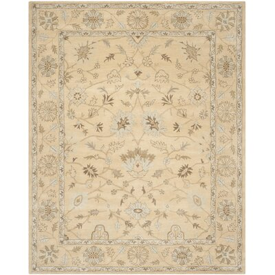 Colesberry Light Gold Area Rug Rug Size: Rectangle 4 x 6
