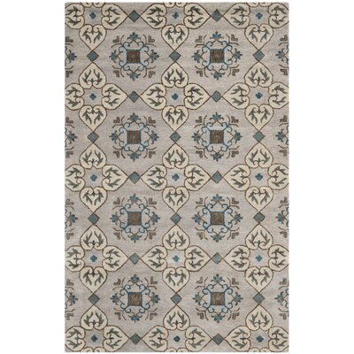 Colesberry Beige Area Rug Rug Size: 5 x 8