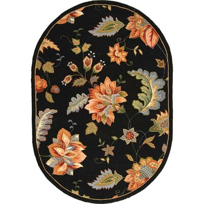Helena Floral Rug Rug Size: Rectangle 79 x 99