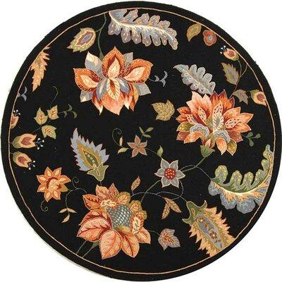Helena Floral Rug Rug Size: Round 8