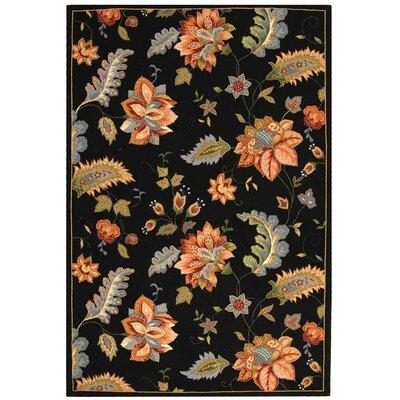 Helena Floral Rug Rug Size: 18 x 26