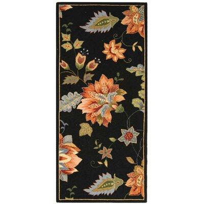 Helena Floral Rug Rug Size: Runner 26 x 8