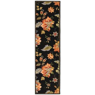 Helena Floral Rug Rug Size: Runner 26 x 6
