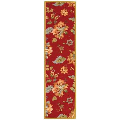 Helena Floral Area Rug Rug Size: Runner 26 x 8