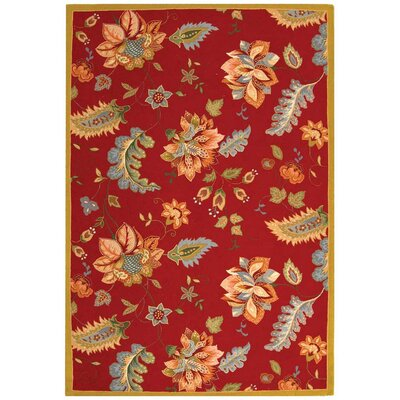 Helena Floral Area Rug Rug Size: 39 x 59