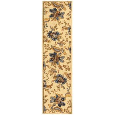 Helena Floral Area Rug I Rug Size: Runner 26 x 6