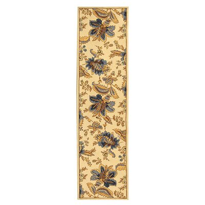 Helena Floral Area Rug I Rug Size: Runner 26 x 8
