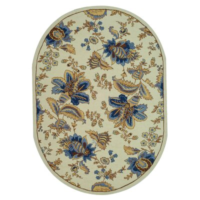 Helena Floral Area Rug I Rug Size: Rectangle 39 x 59