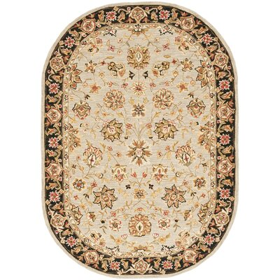 Helena Floral Rug Rug Size: Rectangle 6 x 9