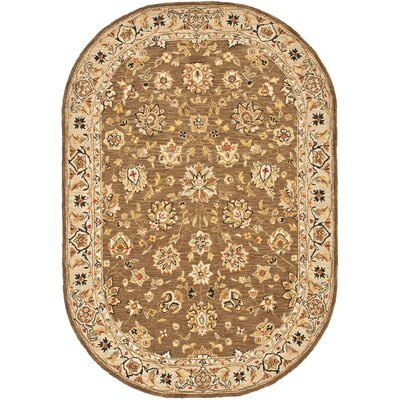 Helena Floral Rug Rug Size: Rectangle 3'9