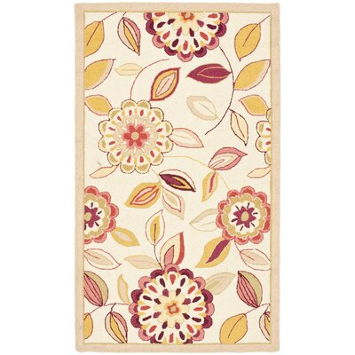Helena Ivory/Taupe Area Rug Rug Size: Rectangle 26 x 4