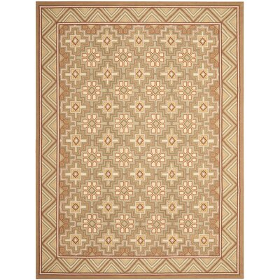 Helena Beige Rug Rug Size: Rectangle 53 x 83