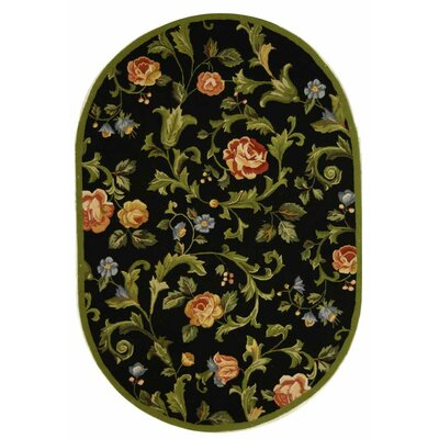 Helena Black/Multi Rug Rug Size: Rectangle 1'8