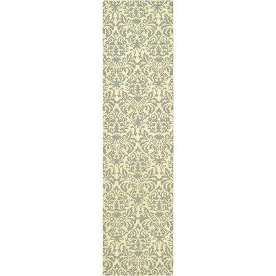 Helena Beige Yellow/Grey Area Rug Rug Size: Runner 26 x 10