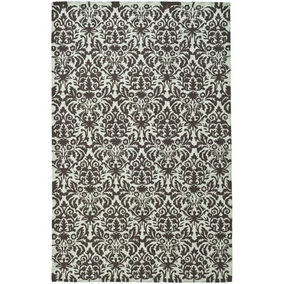 Helena Sage/Chocolate Area Rug Rug Size: Rectangle 79 x 99