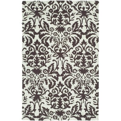 Helena Sage/Chocolate Area Rug Rug Size: Rectangle 26 x 4