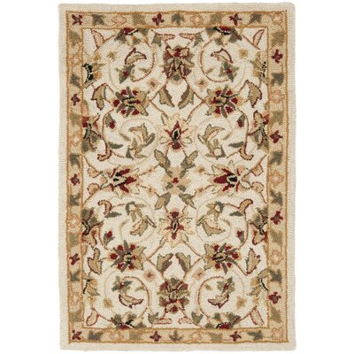 Helena Ivory Area Rug Rug Size: Rectangle 18 x 26