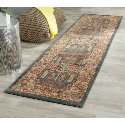Coleraine Brown Area Rug Rug Size: Runner 22 x 14
