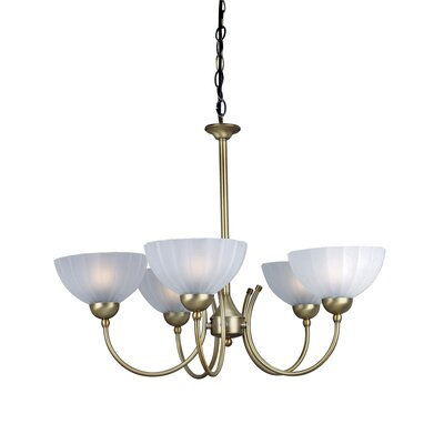 Millersport 5-Light Shaded Chandelier