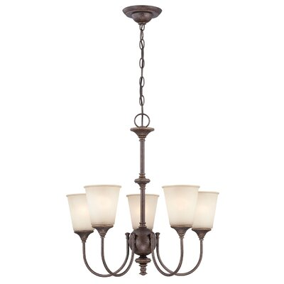 Millville 5-Light Shaded Chandelier