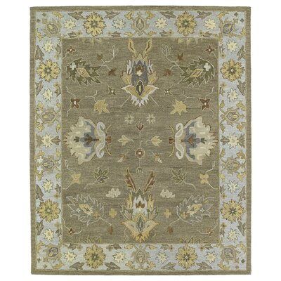 Moorcroft Mocha Area Rug Rug Size: Rectangle 2 x 3