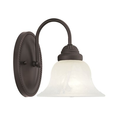 Nicolas 1-Light Bath Sconce Finish: Bronze