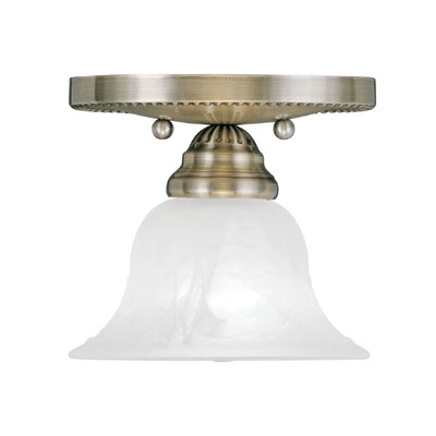 Nicolas Flush Mount Finish: Antique Brass