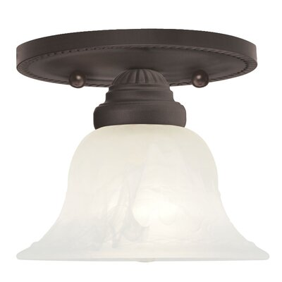 Nicolas Flush Mount Finish: Bronze