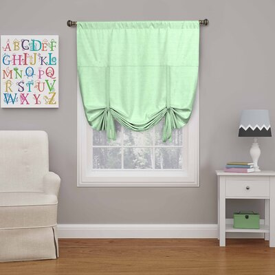 Columbia Blackout Window Tie-Up Shade Color: Surf
