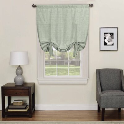 Columbia Blackout Window Tie-up Shade Color: Spa