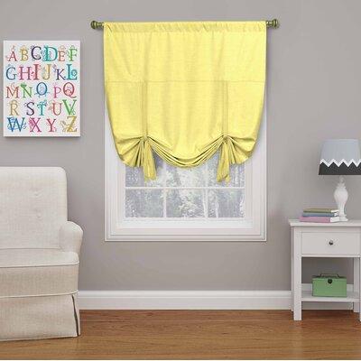 Columbia Blackout Window Tie-Up Shade Color: Lemon
