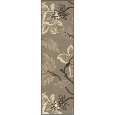 Leigh Taupe Area Rug Rug Size: Runner 23 x 8