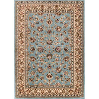 Brew Kettle Traditional Blue Area Rug Rug Size: 710 x 910