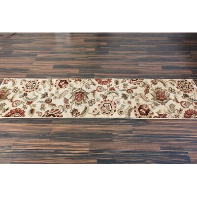 Malinda Ashley Oriental Area Rug Rug Size: Runner 23 x 73