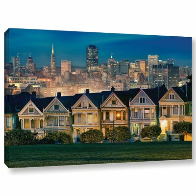 'Painted Ladies' Photographic Print on Canvas Size: 12'' H x 18'' W x 2'' D