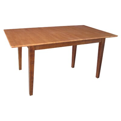 Miles Extendable Dining Table Finish: Cinnamon / Espresso