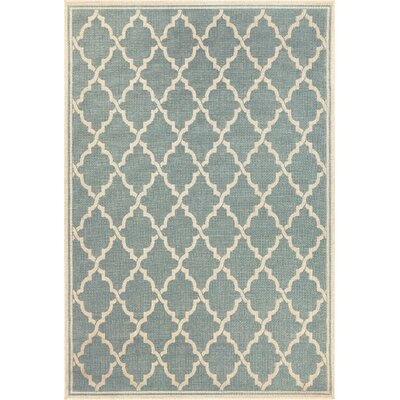 Cardwell Ocean Port Light Turquoise Indoor/Outdoor Area Rug Rug Size: Runner 23 x 119