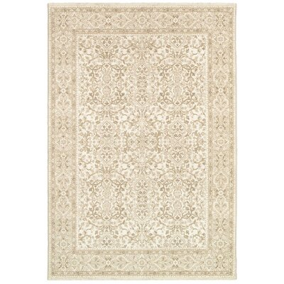 Almira Champagne Area Rug Rug Size: Runner 22 x 710