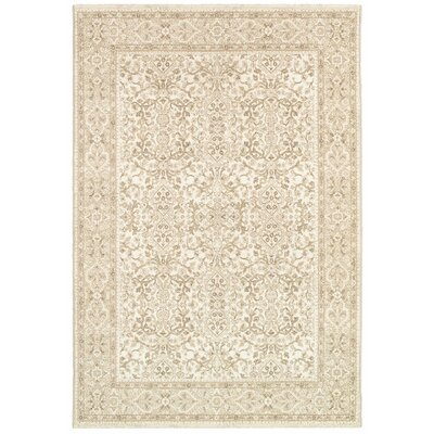 Almira Champagne Area Rug Rug Size: 311 x 56