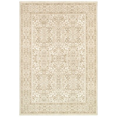 Almira Champagne Area Rug Rug Size: 710 x 109