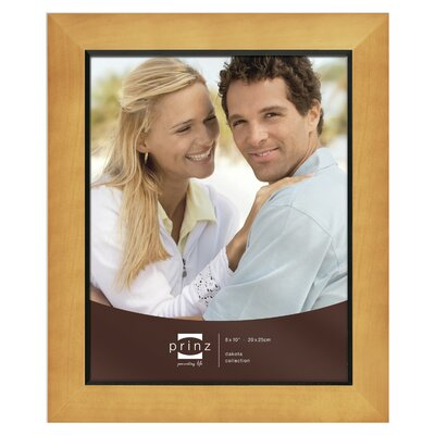 Rectangle Solid Wood Picture Frame Color: Chestnut, Size: 8