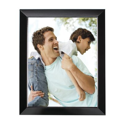 Rectangle Solid Wood Picture Frame Color: Black, Size: 10