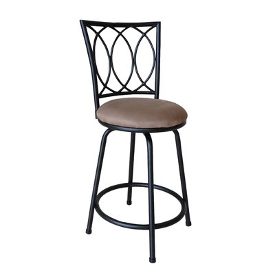 Broad Brook Adjustable Height Swivel Bar Stool