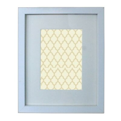 Wood Picture Frame Color: White, Size: 5