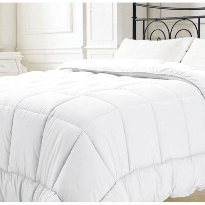Broncho Comforter Set Size: Full/Queen, Color: White