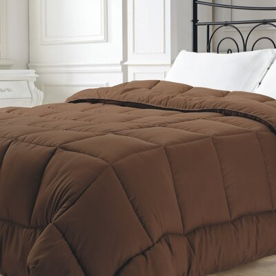 Broncho Comforter Set Size: King, Color: Chocolate